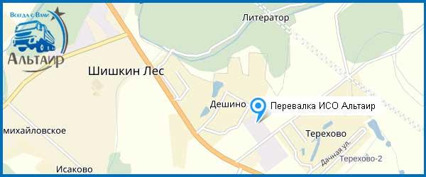 Песок в Шишкином Лесу