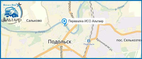 Щебень в Подольске