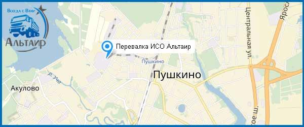 Щебень в Пушкино