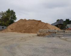 Перевалка речного песка