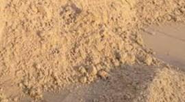 Характеристика сеяного песка