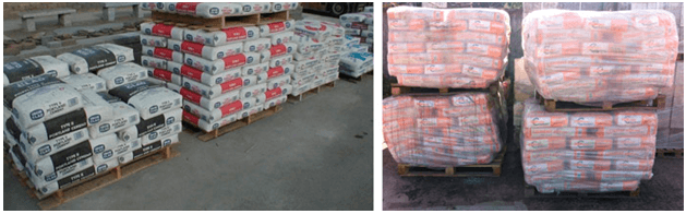 условия хранения цемента в мешках зимой