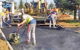 Способы уплотнения покрытия дорог